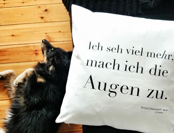 William Shakespeare Kissen Cushion